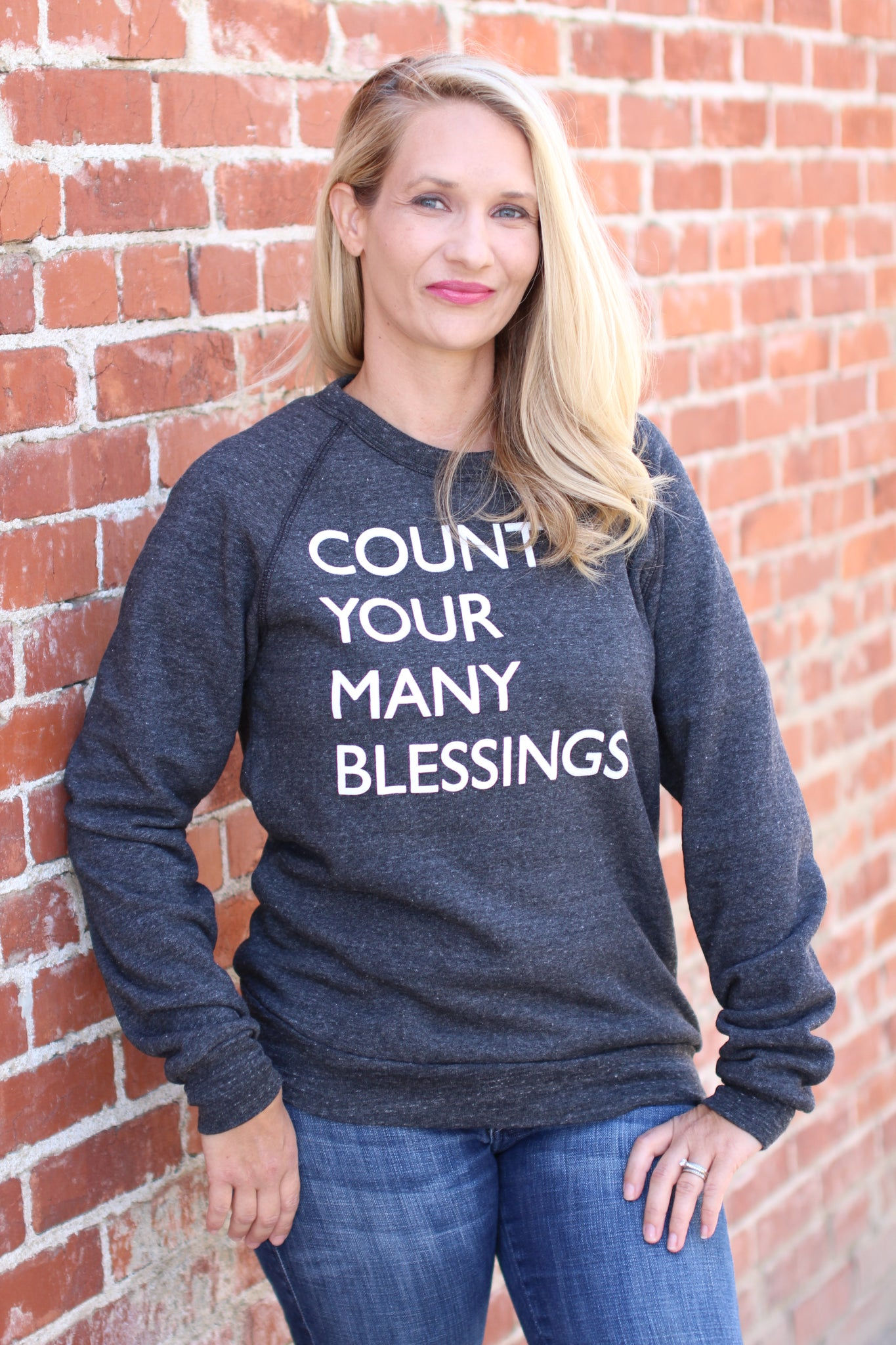 Count Your Many Blessings Pullover
