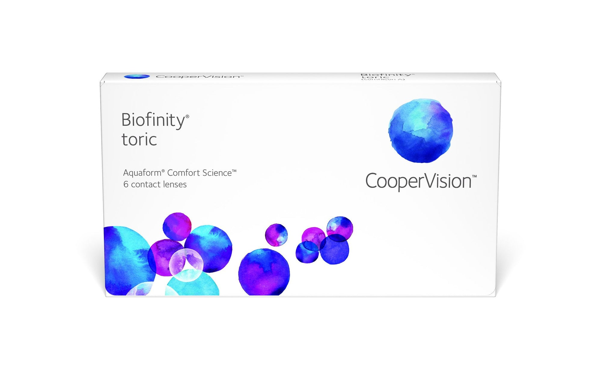 Biofinity Toric - Contact Lenses - Optical First