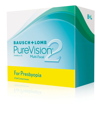 PureVision2 Multi-Focal For Presbyopia - Contact Lenses - Optical First