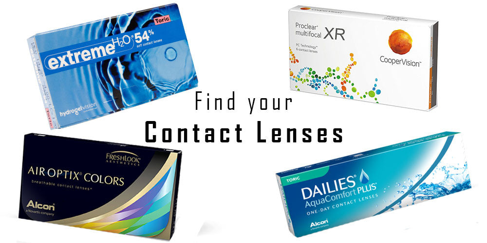 Find your Contact Lenses
