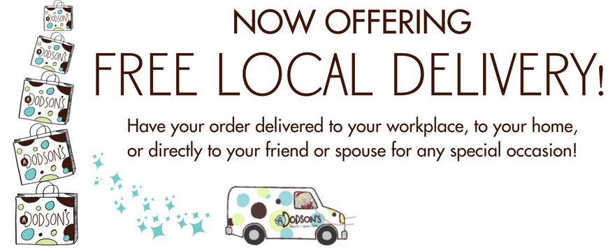 Now Offering Free Local Delivery!