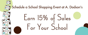 Schedule a School Shopping Event