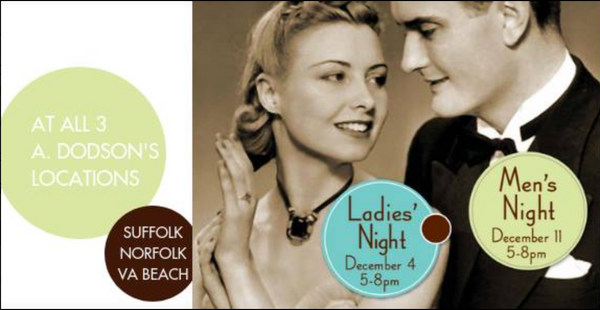 Save 25% at Ladies Night December 4th