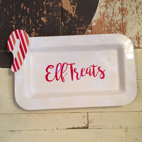 Happy Everything Elf Treats Platter