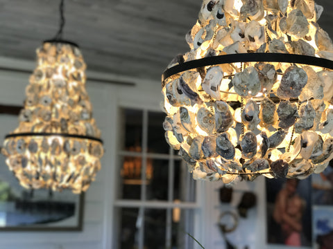 A. Dodson's Oyster Chandeliers