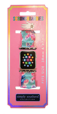 SIMPLY SOUTHERN SCRUNCHIE WATCH BAND