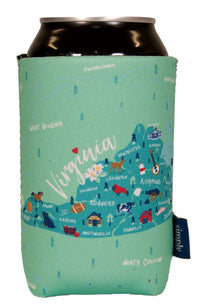 SIMPLY SOUTHERN VIRGINIA CAN KOOZIE