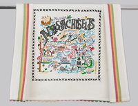 MASSACHUSETTS DISH TOWEL BY CATSTUDIO Catstudio - A. Dodson's