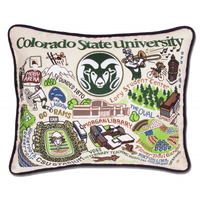 COLORADO STATE UNIVERSITY PILLOW BY CATSTUDIO, Catstudio - A. Dodson's