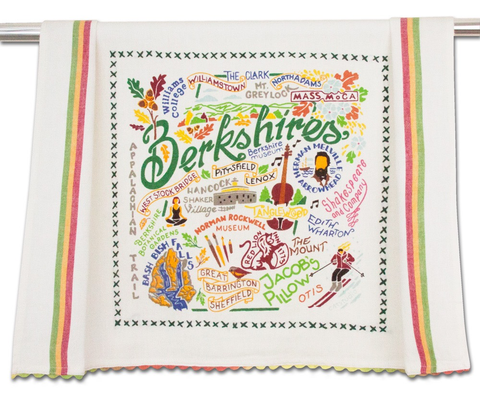 BERKSHIRES DISH TOWEL BY CATSTUDIO
