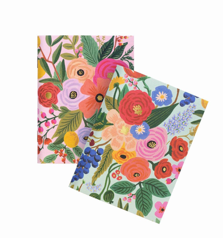 PAIR OF 2 GARDEN PARTY POCKET NOTEBOOKS, Rifle Paper Co - A. Dodson's