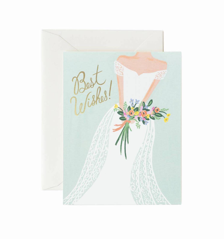 BEAUTIFUL BRIDE CARD, Rifle Paper Co - A. Dodson's