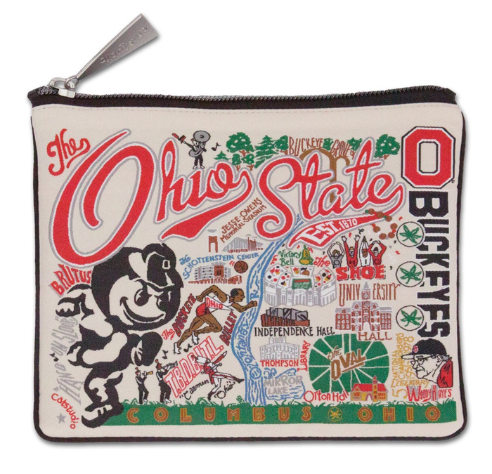 OHIO STATE UNIVERSITY POUCH BY CATSTUDIO