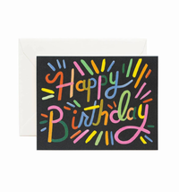 FIREWORKS BIRTHDAY CARD, Rifle Paper Co - A. Dodson's