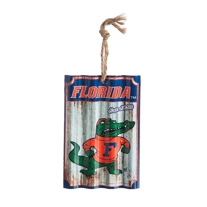 University of Florida, Metal Corrugate Ornament