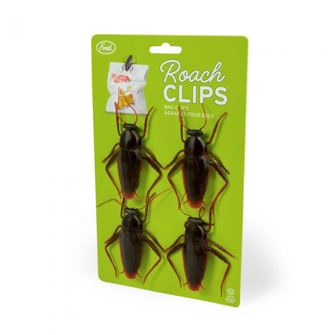 ROACH BAG CLIPS, Fred and Friends - A. Dodson's