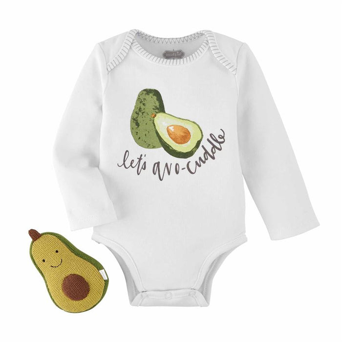 AVOCADO RATTLE CRAWLER SET