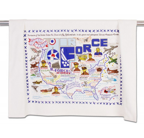 AIR FORCE DISHTOWEL BY CATSTUDIO Catstudio Home Spring - A. Dodson's