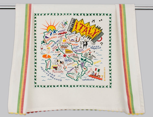 ITALY DISH TOWEL BY CATSTUDIO Catstudio - A. Dodson's
