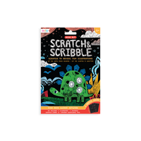 SCRATCH AND SCRIBBLE MINI SCRATCH ART KIT