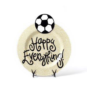 HAPPY EVERYTHING SOCCER BALL BIG ATTACHMENT, Happy Everything - A. Dodson's