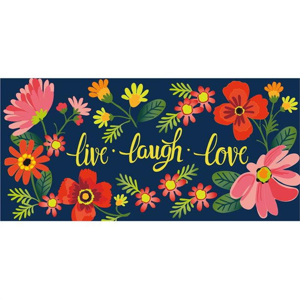 LIVE LAUGH LOVE FLORAL SASSAFRAS SWITCH MAT