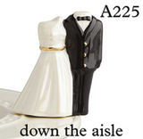 BRAND NEW! |PRE ORDER| NORA FLEMING DOWN THE AISLE BRIDE & GROOM MINI