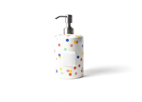 BRAND NEW! HAPPY EVERYTHING HAPPY DOT MINI CYLINDER SOAP PUMP, Happy Everything - A. Dodson's