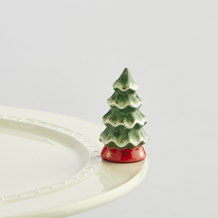 NORA FLEMING O TANNENBAUM CHRISTMAS TREE MINI A173