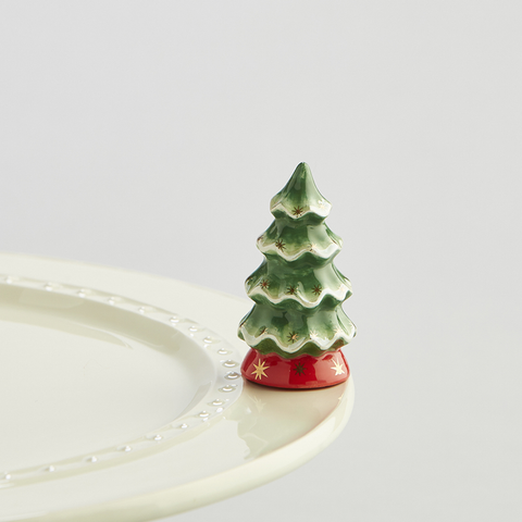 Nora Fleming Christmas Tree Mini A Dodson's A173 O Tannenbaum