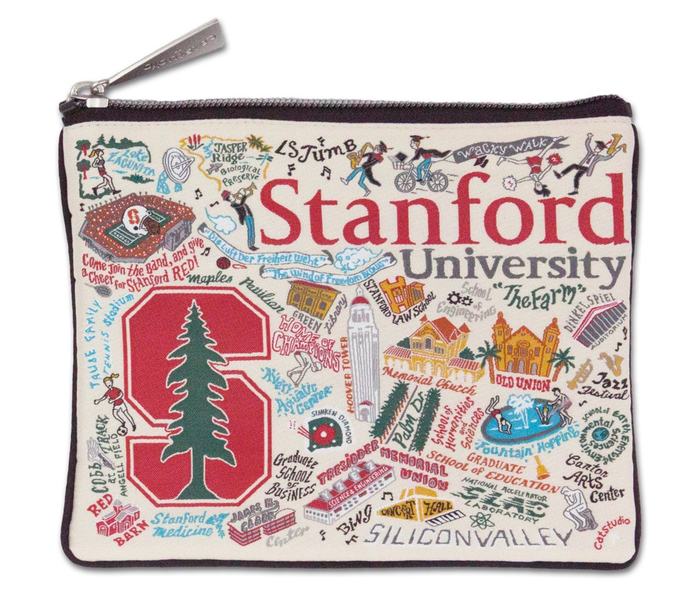 STANFORD UNIVERSITY POUCH, Catstudio - A. Dodson's