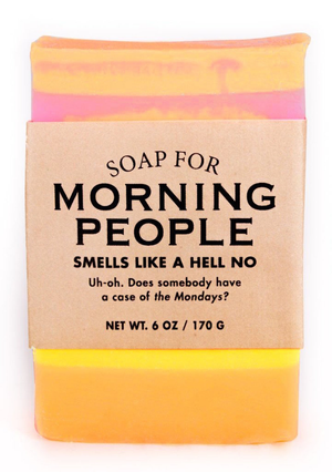 MORNING PEOPLE SOAP, Whiskey River - A. Dodson's