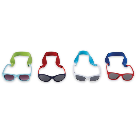 BOY SUNGLASSES & STRAP SET