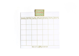 HAPPY EVERYTHING MAGNETIC DRY ERASE WALL CALENDAR