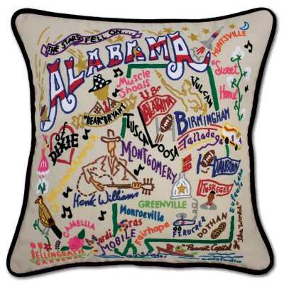 ALABAMA PILLOW BY CATSTUDIO Catstudio COD - A. Dodson's