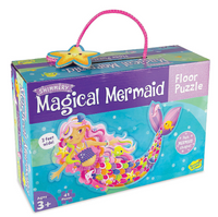 FLOOR PUZZLE - MAGICAL MERMAID