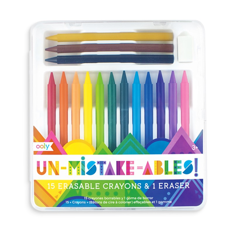 UNMISTAKEN  ERASABLE CRAYONS, Ooly - A. Dodson's