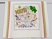 NAPA VALLEY DISH TOWEL BY CATSTUDIO, Catstudio - A. Dodson's