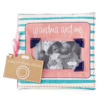 GRANDMA & ME FABRIC BOOK
