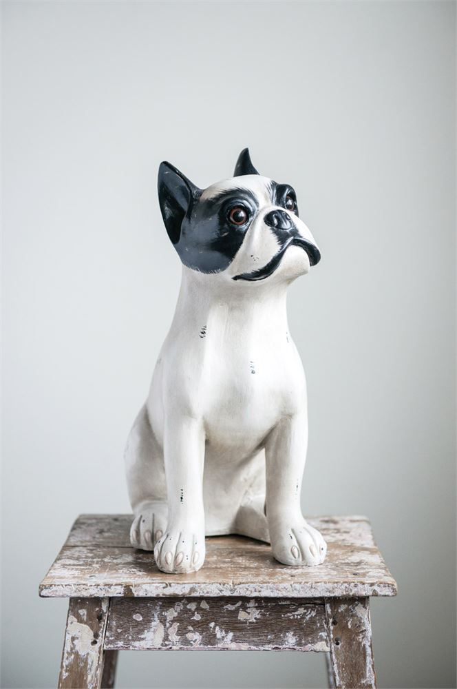 RESIN SITTING DOG, Creative Co-op - A. Dodson's