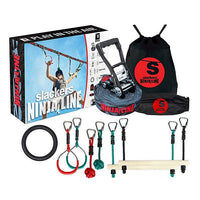 Slackers Ninjaline Intro Kit 36FT WITH 7 obstacles
