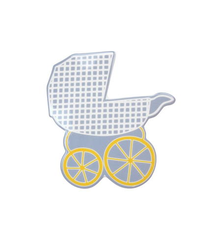 HAPPY EVERYTHING BABY CARRIAGE BIG ATTACHMENT, Happy Everything - A. Dodson's