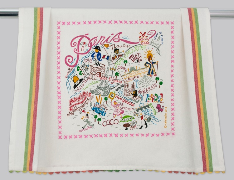 PARIS DISH TOWEL BY CATSTUDIO, Catstudio - A. Dodson's