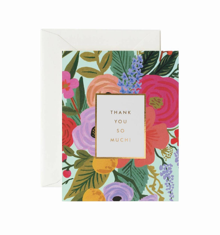 GARDEN PARTY THANK YOU CARD, Rifle Paper Co - A. Dodson's
