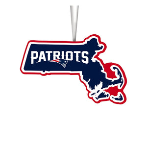 New England Patriots, State Ornament