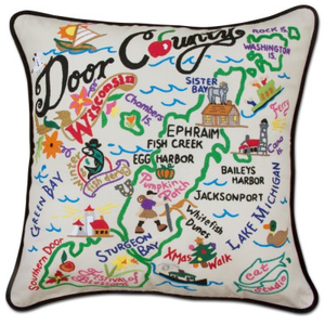 DOOR COUNTY PILLOW BY CATSTUDIO, Catstudio - A. Dodson's