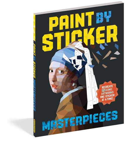 PAINT BY STICKER: MASTERPIECES, Workman Publishing - A. Dodson's