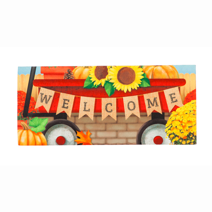 Autumn Red Wagon Sassafras Switch Mat