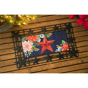 Christmas Country Star Sassafras Switch Mat