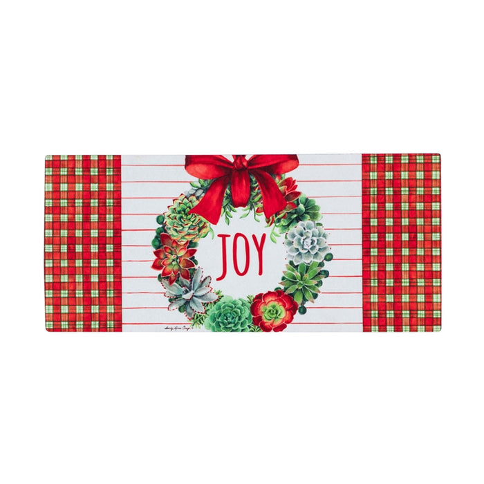 Holiday Succulents Sassafras Switch Mat